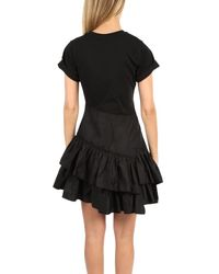 3.1 Phillip Lim Flamenco T-shirt Dress Black