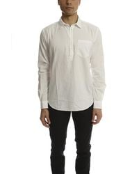 Norse Projects White Osvald Double Layer for men