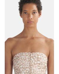Zimmermann Pink Carnaby Leopard-print Linen Dress