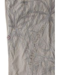 Maharishi Gray Leaf Embroidered Snochord Pant for men