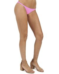 Solid & Striped Pink The Morgan Bottom