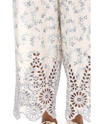 Ganni Multicolor Emile Lace Pants