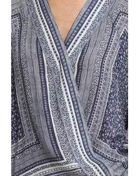 Smythe - Blue Kimono Blouse - Lyst