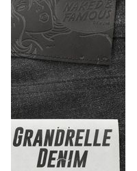 Naked & Famous Black Weird Guy Grandrelle for men