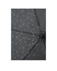 Lucien Pellat Finet Black Print Umbrella