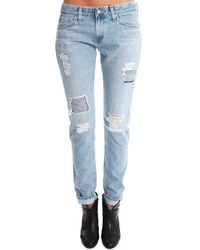 AG Jeans Blue Jeans The Nikki Relaxed Skinny