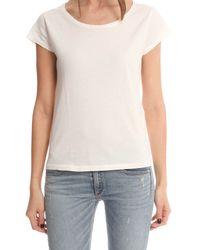 Acne - White Copy T-shirt - Lyst