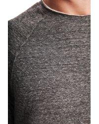 Blue & Cream - Gray Bowery Raglan for Men - Lyst