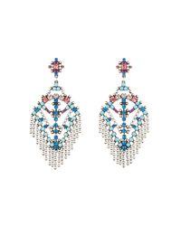 DANNIJO | Metallic Coraza Earrings | Lyst