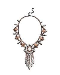 DANNIJO | Metallic Marie Necklace | Lyst