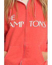 Blue & Cream - Red Lamptons Hoody - Lyst