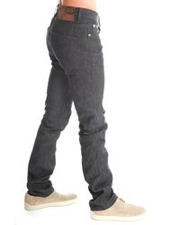 Naked & Famous | Gray Skinny Stretch Jeans for Men | Lyst