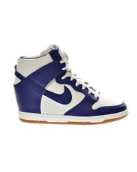 Nike | Blue Dunk Sky Hi High-Top Sneakers | Lyst