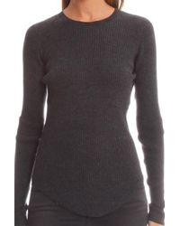 IRO - Gray Serena Pullover Sweater - Lyst