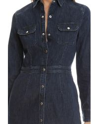 Rag & Bone Blue /jean Utility Dress