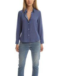 A.P.C. Blue 70s Shirt