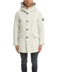 Stone Island Natural Real Down Blouson Jacket for men