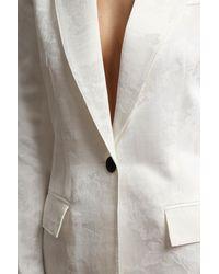 Smythe - White Tailored Blazer - Lyst
