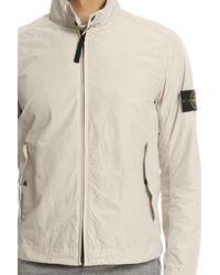 Stone Island Natural Windbreaker Jacket for men