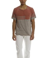Remi Relief Red Pigment Jersey Tee for men