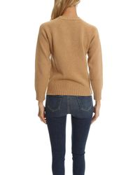 A.P.C. | Natural Edimbourg Sweater | Lyst