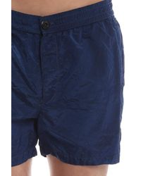 Stone Island Blue Board Shorts for men