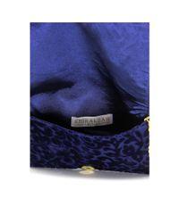 Shiraleah - Blue Victoria Women Velour Messenger Nwt - Lyst