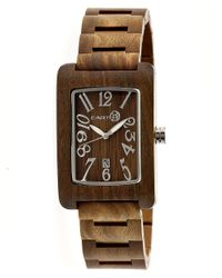 Earth Wood - Natural Trunk Bracelet Watch - Lyst