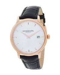 Raymond Weil - Metallic Unisex Toccata Watch - Lyst