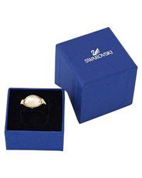 Swarovski - Multicolor Crystal Vanilla Plated Ring - Lyst