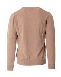 Beverly Hills Polo Club - Brown Men's Beige Wool Sweater for Men - Lyst