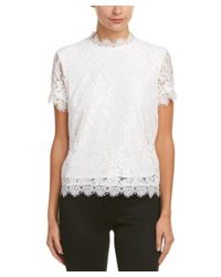 Laundry by Shelli Segal | White Top | Lyst