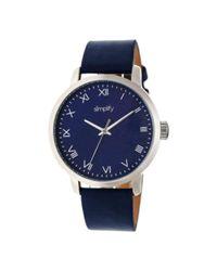 Simplify - Blue Men's The 4200 Quartz Watch for Men - Lyst