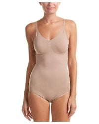 Yummie By Heather Thomson - Brown Connor Convertible Halter Bodysuit - Lyst