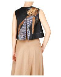 Prada - Women's Blue Wool Top - Lyst