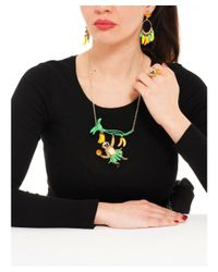 Les Nereides - Pink Kind And Happy Francis The Flamingo Earrings - Lyst