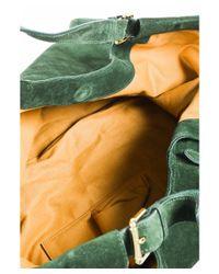 Ralph Lauren - 1 Fall 2010 Green Suede Oversize Slouchy Hobo Bag - Lyst