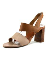 Chloé - Brown Mia Women Us 7 Tan Sandals - Lyst