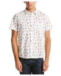 Michael Bastian | White Gray Label Woven Shirt for Men | Lyst
