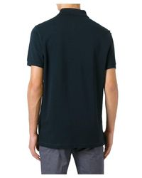 Paul Smith - Men's Psxc698px71spn Blue Cotton Polo Shirt for Men - Lyst