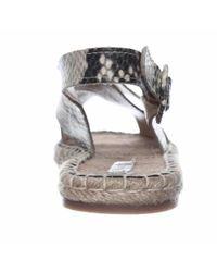 Pour La Victoire - White Olivia Espadrille Slingback Sandals, Natural - Lyst