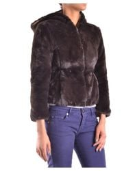 Save The Duck - Women's Brown Polyester Jacket - Lyst