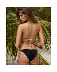 Beach Bunny - Black Triangle Top Hotline Bling Black - Lyst