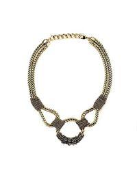 Nicole Romano | Metallic Copaia Necklace | Lyst