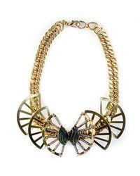 Nicole Romano | Metallic Maylin Necklace | Lyst