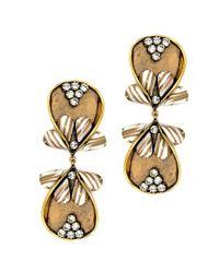 Nicole Romano - Metallic Dewei Earrings - Lyst
