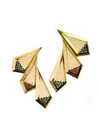 Nicole Romano - Metallic Ruolan Earrings - Lyst