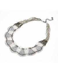 Nakamol - Gray Olympia Necklace-grey - Lyst