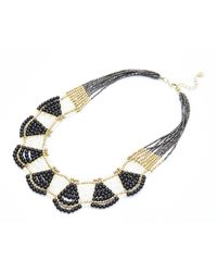 Nakamol | Multicolor Olympia Necklace-black/white | Lyst