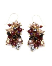 Nakamol - Multicolor Freesia Earrings-amethyst - Lyst